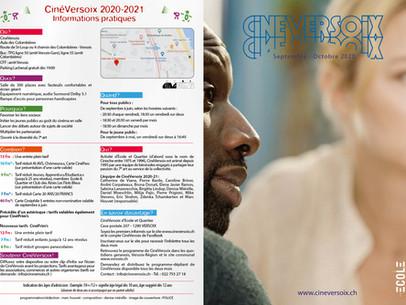 Septembre-octobre 2020 | Infos pratiques