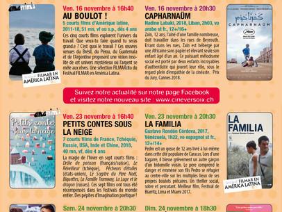 Le programme de CinéVersoix novembre à décembre 2018