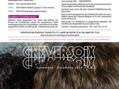 CinéVersoix novembre-décembre 2019