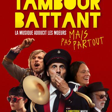 TAMBOUR BATTANT Samedi 3 juillet 22:00 Ciné-Plage