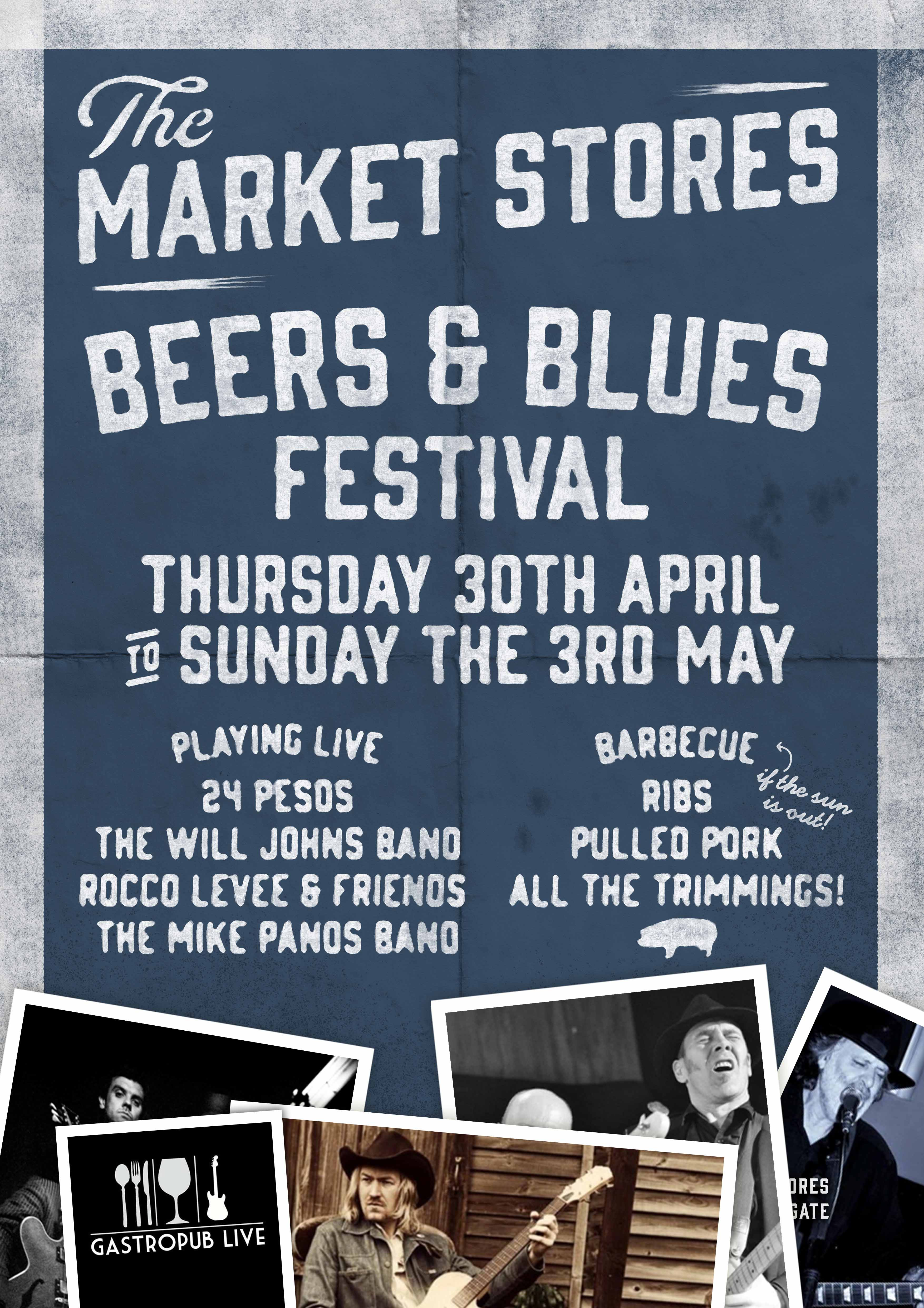 Market Stores Reigate Blues Festival Poster _11537