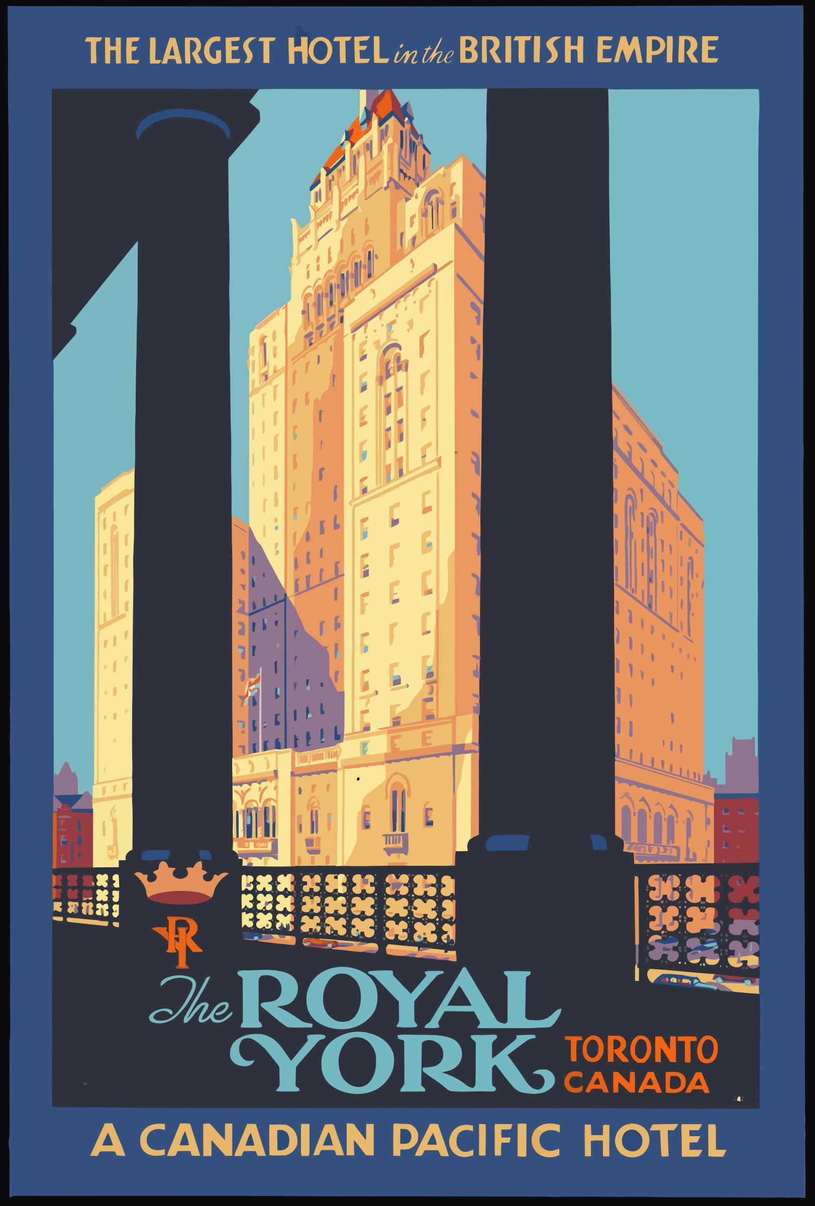 Vintage-Travel-Poster-Toronto-Canada