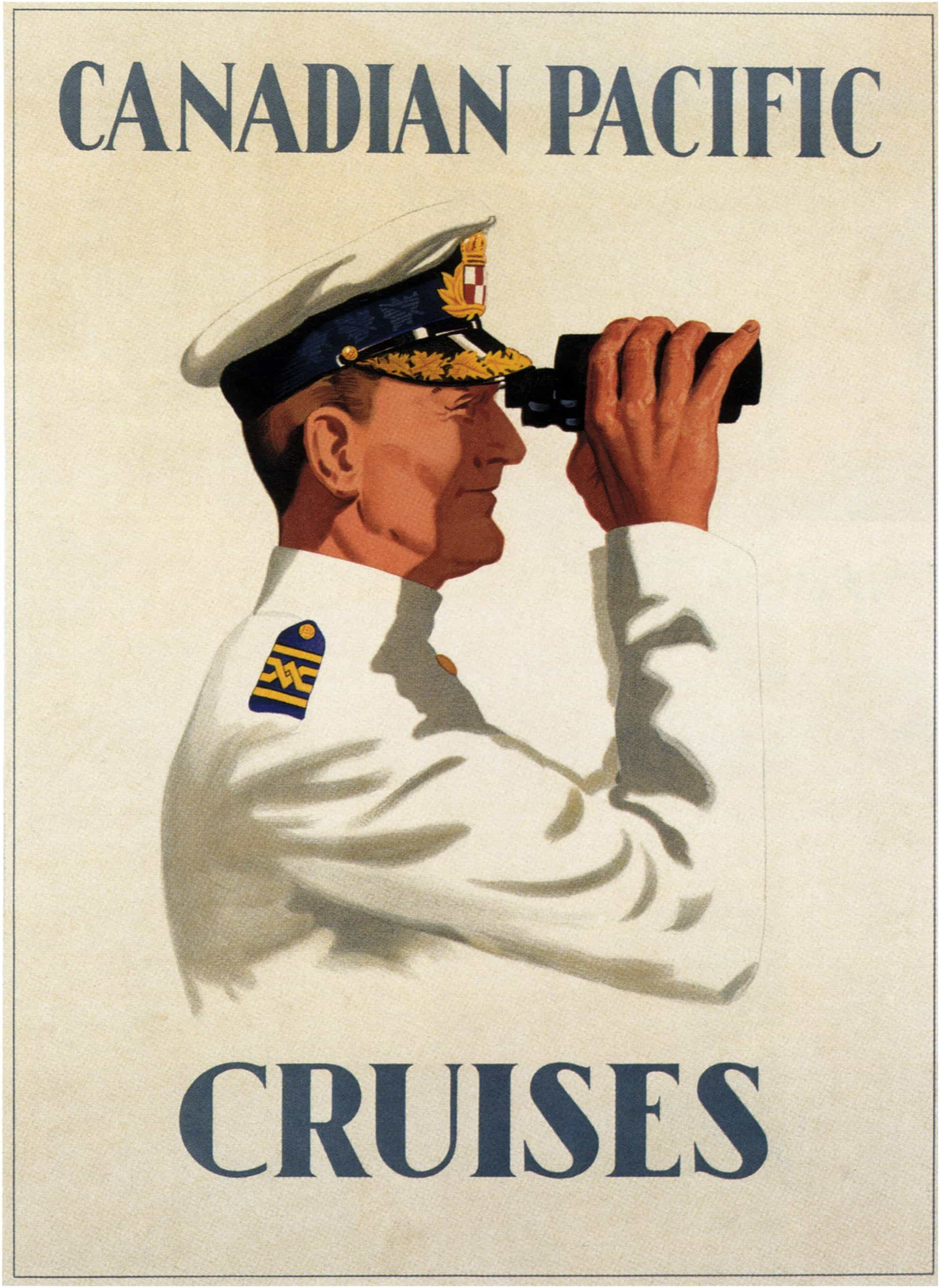 Canadian-Pacific-Cruises-Original-Travel-Poster