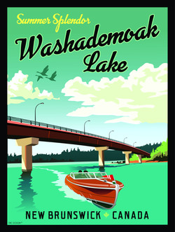 washademoak-lake-poster