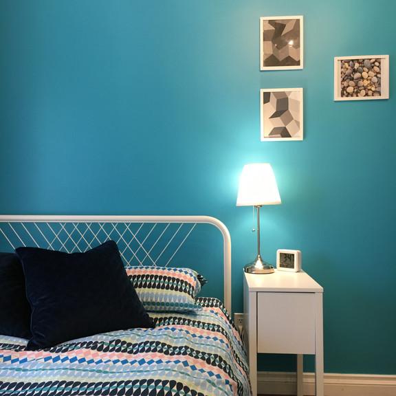 Cool Contemporary Bedroom