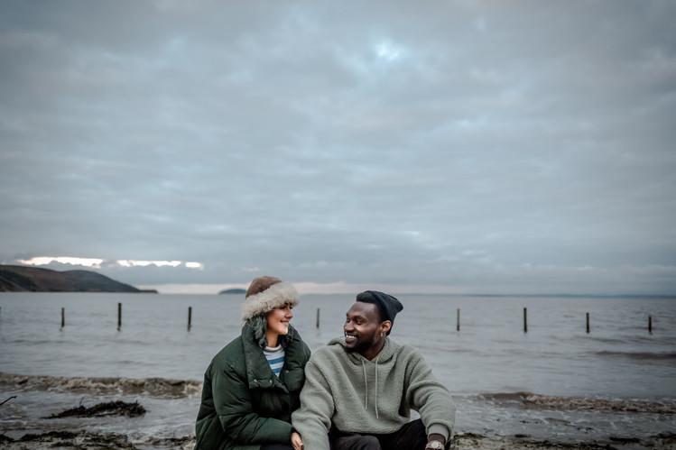 Tilly&Ayo-Beach-Couple-Weston-Bath-Brist