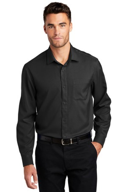 Port Authority ® Men's Long Sleeve Performance Staff Shirt