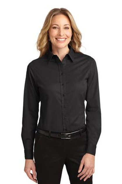 Port Authority® Ladie's Long Sleeve Easy Care Shirt
