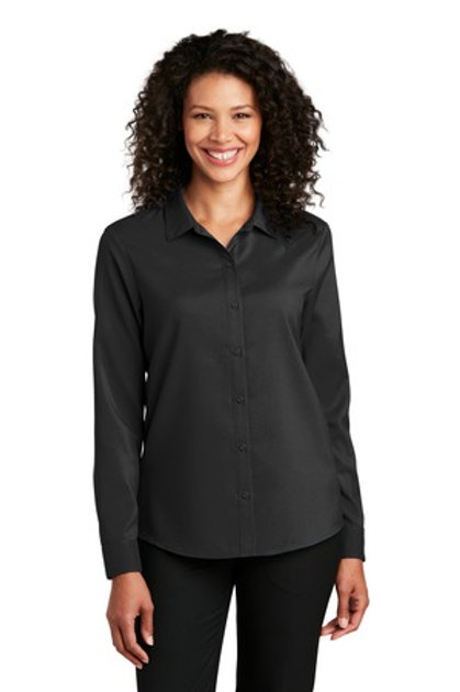 Port Authority ® Ladie's Long Sleeve Performance Staff Shirt