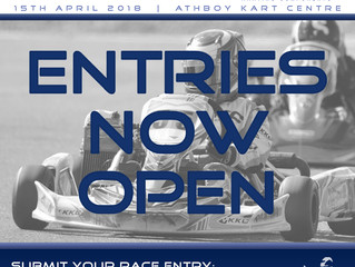 Entries now OPEN for Round 2!