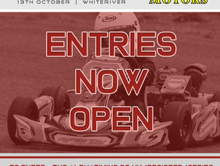 Entries now OPEN for final race of the championship