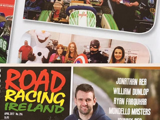 TKC feature in April's edition of Road Racing Ireland Magazine