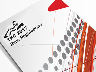 Update to TKC Race Regulations