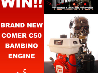 Win a Comer C50 Bambino engine with thanks to Tommy Motorsport!