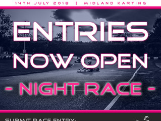 Entries now open for Night Race!