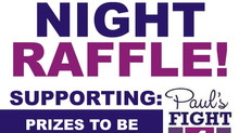 Awards Night Raffle in aid of Paul's Fight 4 Life