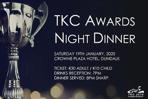TKC Awards Night Ticket - Child (Under 12's ideally)