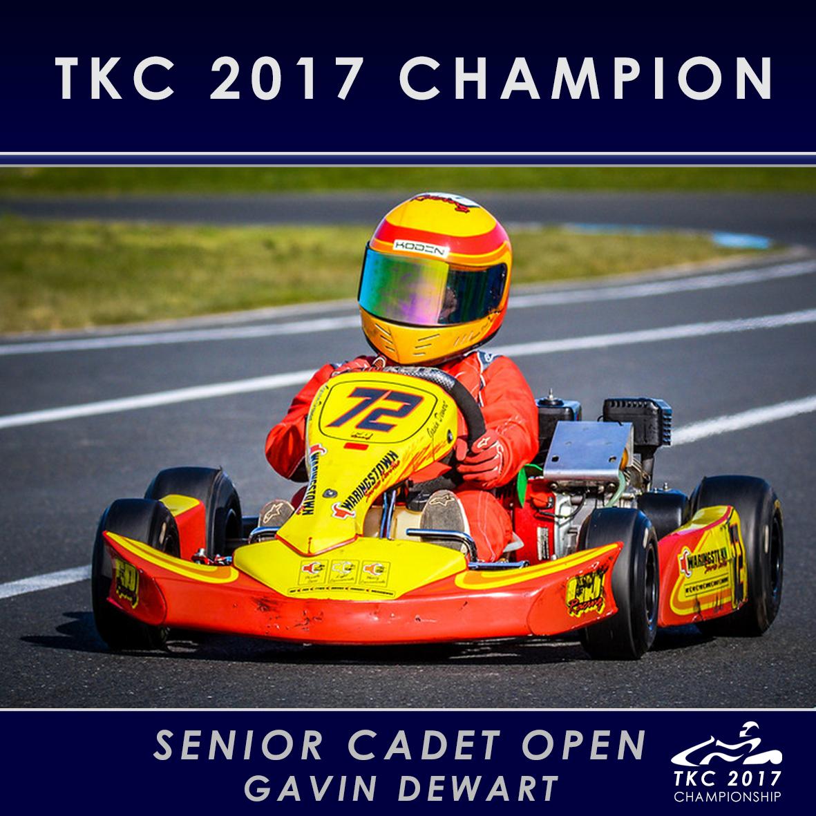 Sr Cadet Open - Gavin Dewart