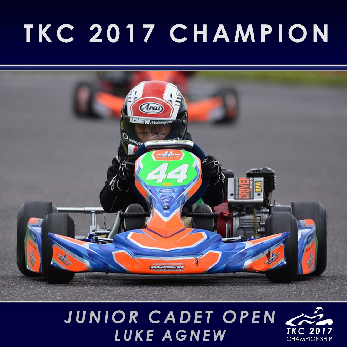 Jr Cadet Open - Luke Agnew