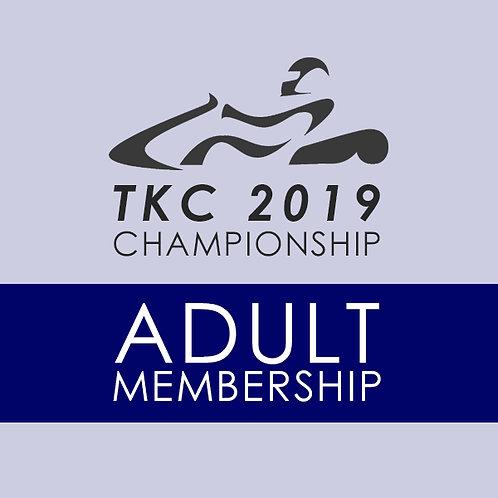 2019 TKC Adult Membership