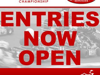 Entries now OPEN for Gordon Automotive Services Round 1 of TKC 2017 Championship