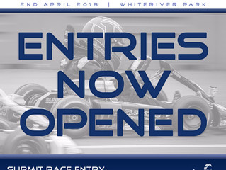 Race entries opened for Round 1!