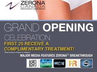 Zerona Oakville Grand Opening