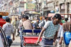 Market district in Dehli