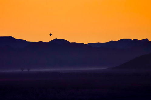 Dawn in the Namib Desert