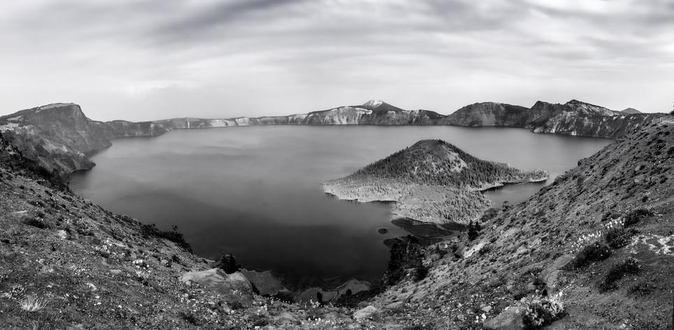 Crater Lake B&W.JPG