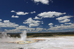 Thermal features, Yellowstone National Park