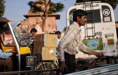 Traffic in New Dehli