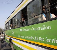 City bus in New Dehli