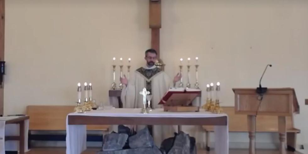 Mass - Sunday 7:00 pm MASKS MANDATORY