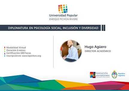 Flyer Psi Social, Inclusión y Dieversida