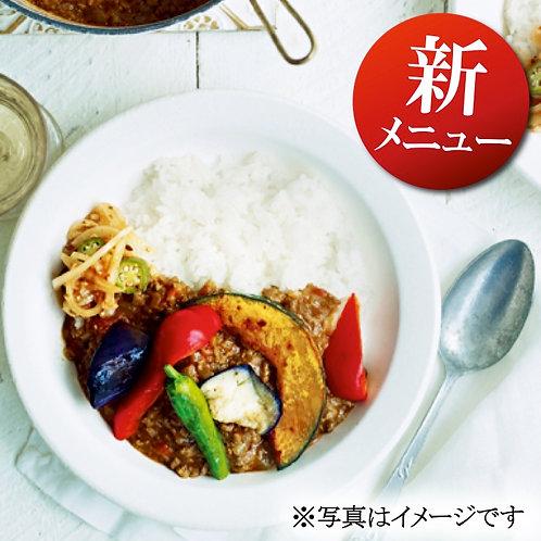 11月20日(水)彩り焼き野菜のキーマカレー弁当