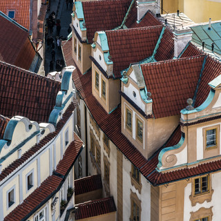 Крыши Старого города Prague Old town roofs