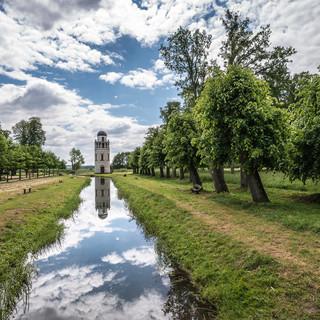 Остатки дворцового парка и обсерватория в Ремплине Remnants of palace park and the observatory in Remplin