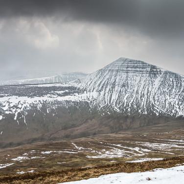 Горы Брекон Биконс Brecon Beacons mountains