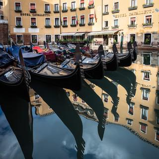 Отражения Венеции. Бачино Орсеоло  Reflections of Venice. Bacino Orseolo