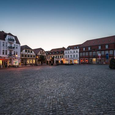 Нойер Мркт, главная площадь Варена (Мюрица) Neuer Markt, the main square of Waren (Müritz)