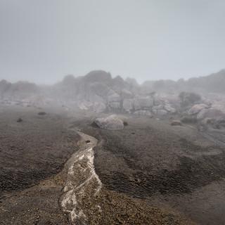 Марсианские пейзажи у вершины вулкана Невадо-дель-Руис Martian landscapes near the top of Nevado del Ruiz volcano