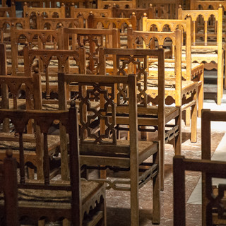 Стулья, собор Монреале Seats in the Cathedral of Monreale