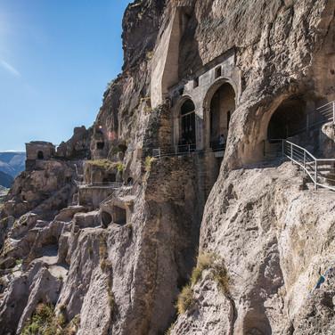 Пещерный монастрырь Вардзиа Cave monastery of Vardzia