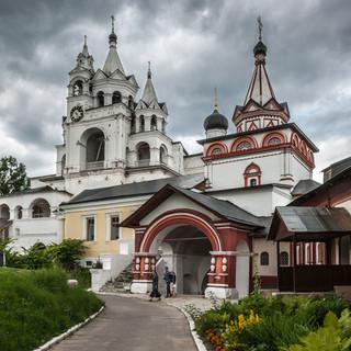 Свято-Троицкая церковь в Саввино-Сторожевском монастыре The church of Holy Trinity, Savvino-Storozhevsky Monastery