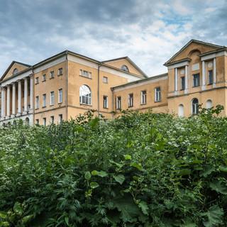 Главный дом усадьбы Ивановское под Подольском Manor house of Ivanovskoye estate