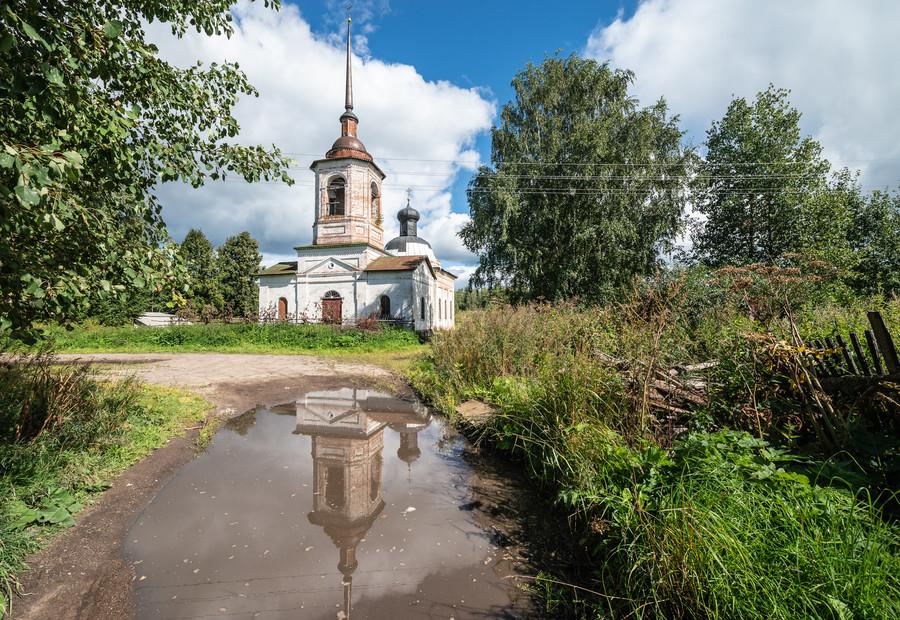 Церковь Чуда Михаила Архангела на Городище