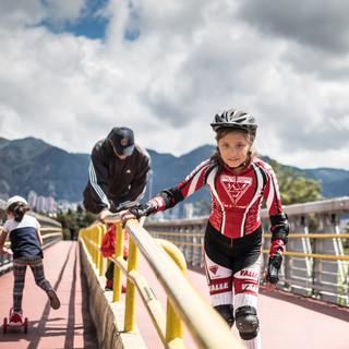 Богота - спортивный город Bogotá, a sportive city