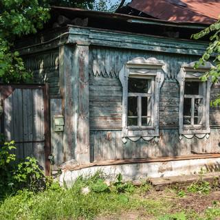 Заброшенный дом, Врея An abandoned house, Vereya