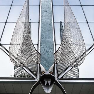 Деталь нового здания на Авенида-де-Либердаде Detail of a new building in Avenida de Liberdade